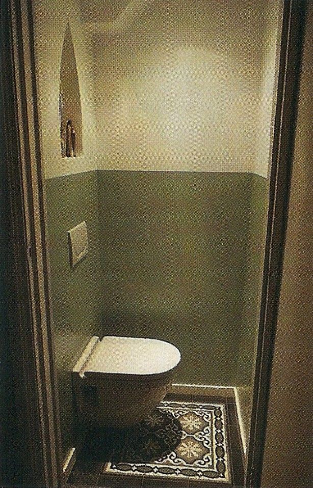 Toilet hangend closet portugese designtegels gladde muur 101 woonideeen badkamer - Muur tegels voor wc ...