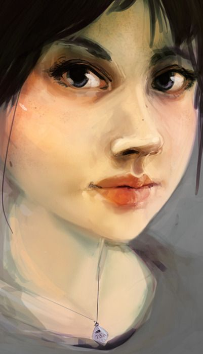 rubyssketchbook: self portrait