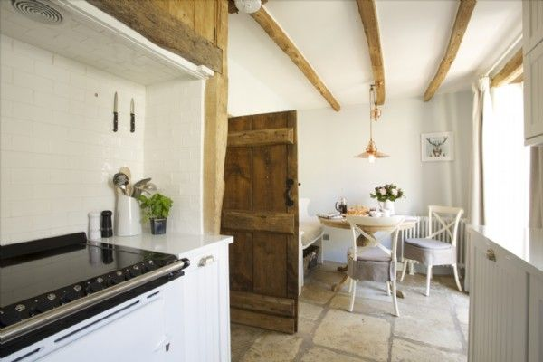 The property has an electric Aga