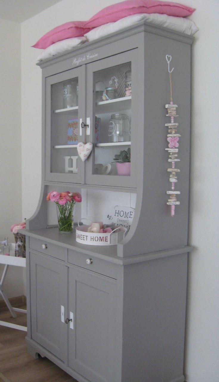 25 beste idee n over wit grijze slaapkamer op pinterest grijs bed gezellige slaapkamer decor - Muur hutch ...