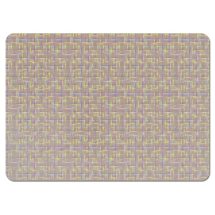 Uneekee Textus Brown Placemats (Set of 4) (Textus Brown Placemat) (Polyester)