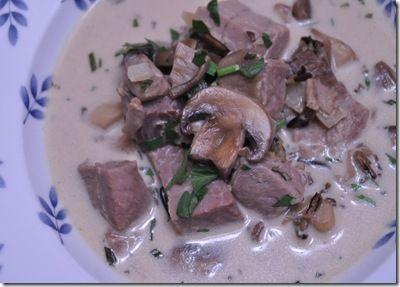 Wild Rice, Mushroom and Prime Rib Soup