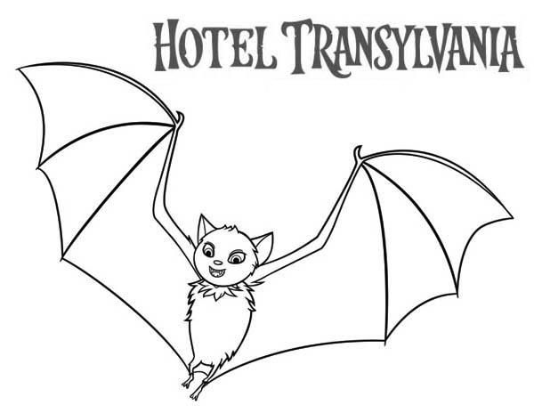 Count Dracula Become A Bat In Hotel Transylvania Coloring Pages Coloring Pages Hotel Transylvania Transylvania