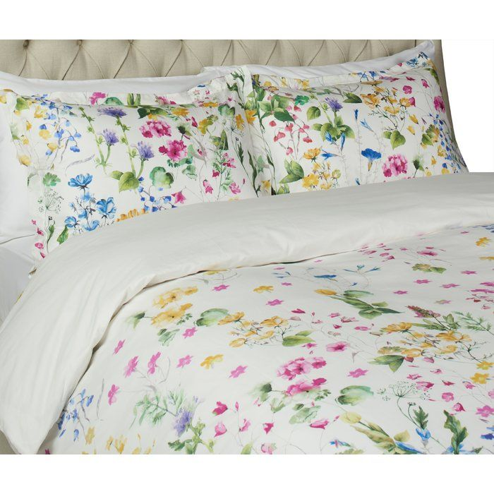 WILDFLOWERS LILACS BUTTERFLIES 3pc FULL QUEEN QUILT SET Pink Lavender White