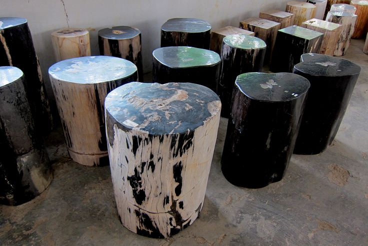 https://flic.kr/s/aHskX9CRwR   Log Outdoor Furniture   Petrified Wood Log Outdoor Furniture made from genuine fossil wood.