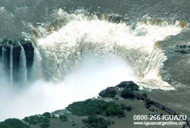 Garganta del Diablo: Cataratas del Iguazu, Argentina