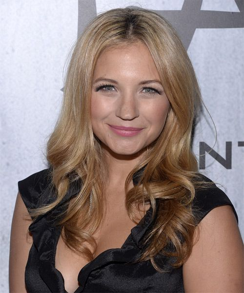 Vanessa Ray Hairstyle - Formal Long Wavy. Click on the image to try on this hairstyle and view styling steps!