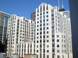7.) Northwestern Memorial Hospital.  It's several blocks long but it has to be part of the richest properties in the world.  Right in the heart of Chicago Gold Coast.