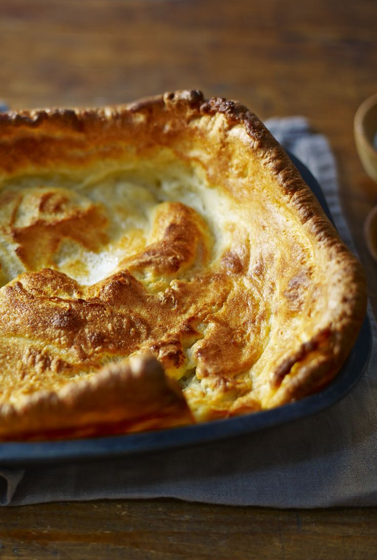 One giant Yorkshire pudding to rule them all, and to stuff with roast dinners. It's Delia's way.