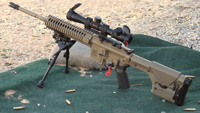 M110 Sniper Rifle Had fun with the shortened version as ... M110 Sniper Rifle Suppressed