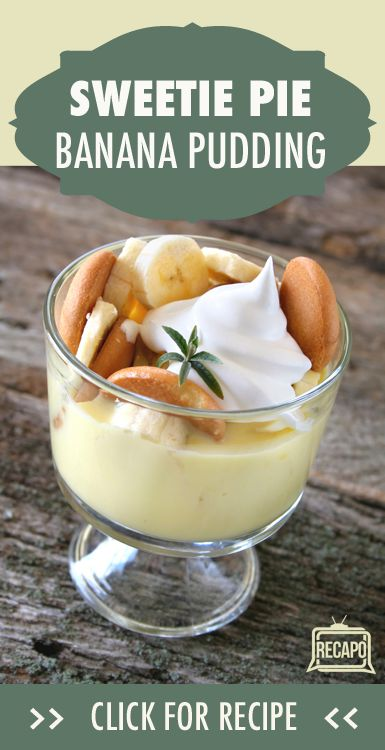 Check out this yummy banana pudding recipe from Robbie Montgomery. Miss Robbie's Sweetie Pies soul food restaurants can be found in St. Louis, Missouri.