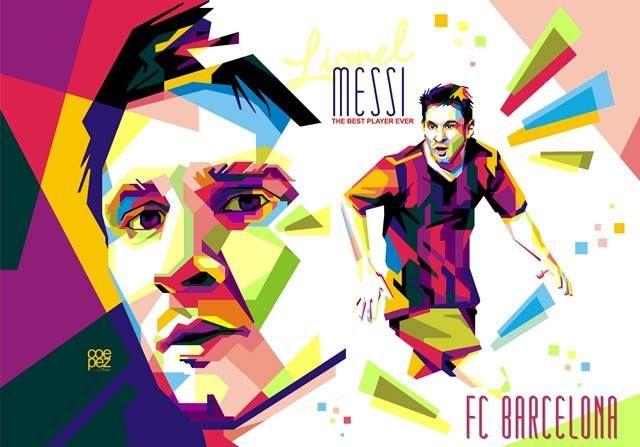 """Los Cules"" FC Barcelona - Lionel Messi"