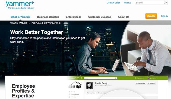 Microsoft adquiere Yammer en busca de sus más de cinco millones de usuarios de empresa http://www.genbeta.com/p/69835