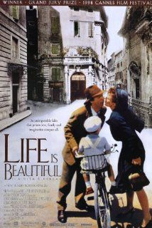 Life Is Beautiful (1997) Poster A Jewish man has a wonderful romance with the help of his humor, but must use that same quality to protect his son in a Nazi death camp.