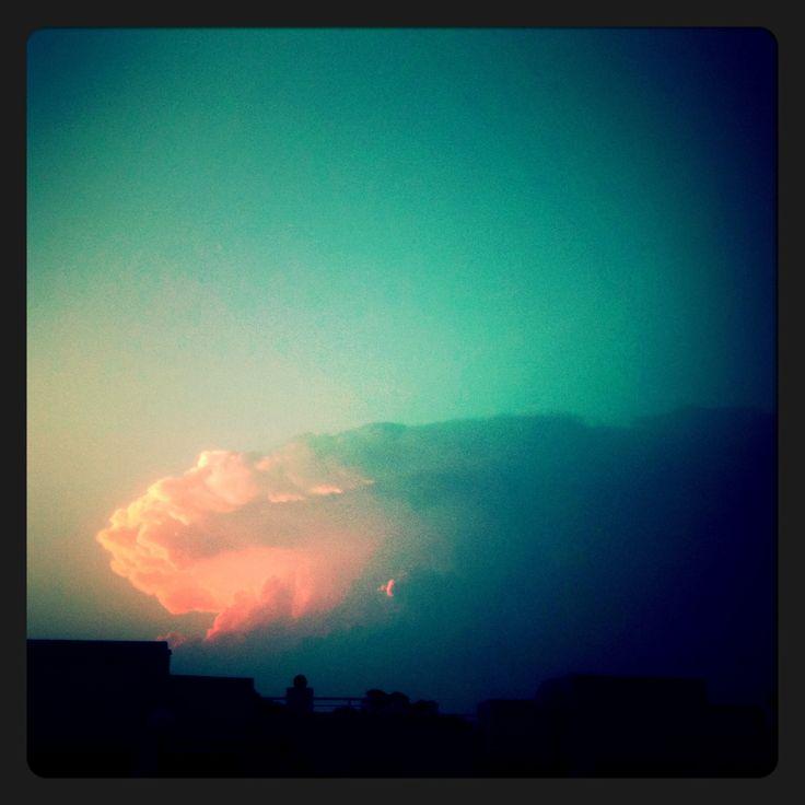 Storm come