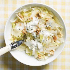 Witte wintersalade