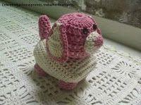 Tina's handicraft : crochet puppy dog - photo tutorial