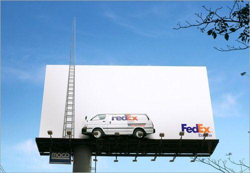 FedEx Express billboard advertising