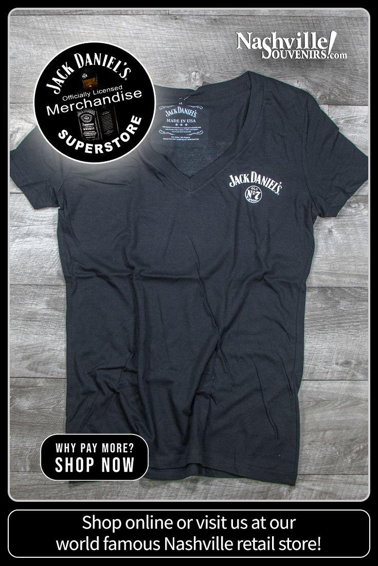 Ladies Jack Daniels Jack Lives Here V Neck T Shirt Ladies Jack Daniels Jack Daniels Long Sleeve Tshirt Men [ 1102 x 735 Pixel ]