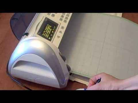 Video tutorial Cutting Stencils and Screens with cricut