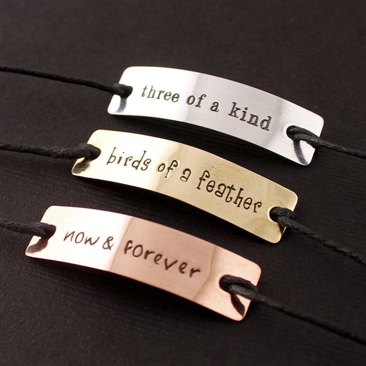 Lock Stock & Barrel - Set of Three Friendship Bracelets - Spiffing Jewelry - Nightmare Before Christmas