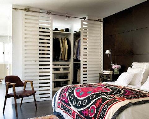 Interesantes puertas de armario
