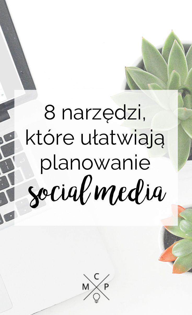 Zarządzaj swoim czasem i swoją obecnością w social mediach - korzystaj z aplikacji, które Ci w tym pomogą. #socialmedia #narzedzia #tips