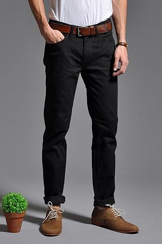 Skargorn V Jeans Raw Black