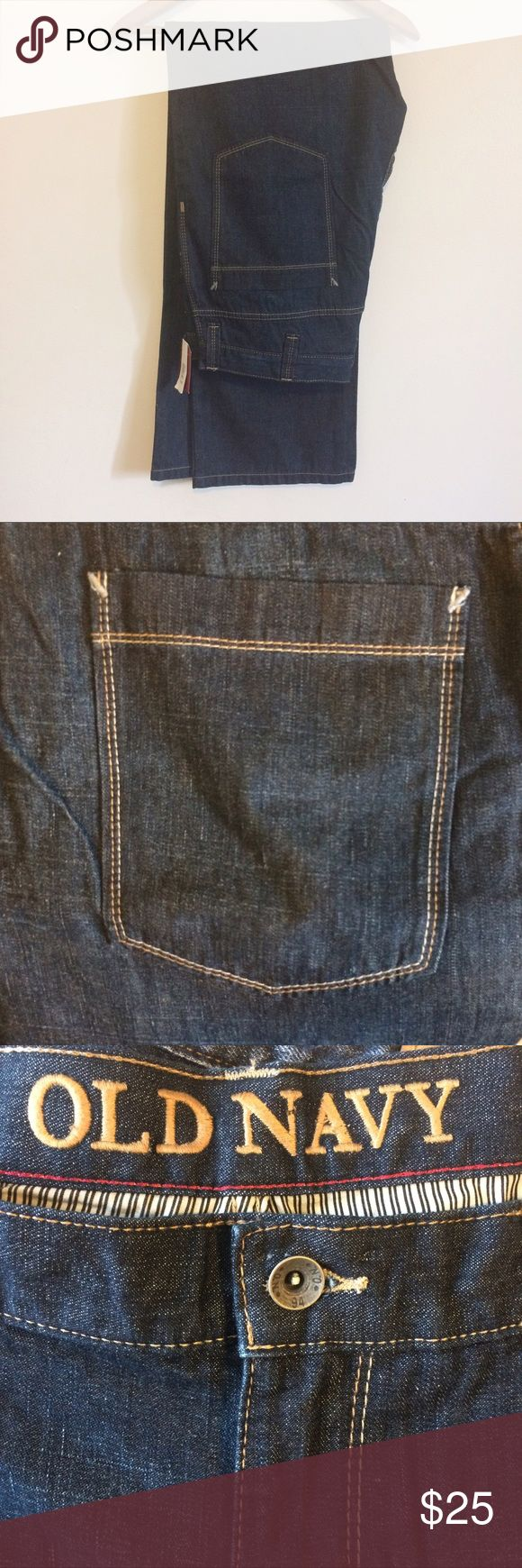 NWT Old Navy Men's Bootcut Jeans 36/34 New with tags nice thick jeans! There is a mark on the inside tag, most likely from the store itself - not visible on the outside! O1 B1 Old Navy Jeans Bootcut
