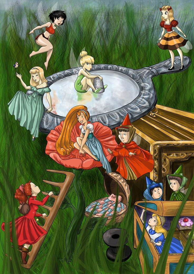 Welcome Arrietty....this is so cute...other fairies and little ones (including tinkerbell, crysta, thumbelina, sleeping beauty fairies, mini alice when she shrinks, etc) welcome arietty