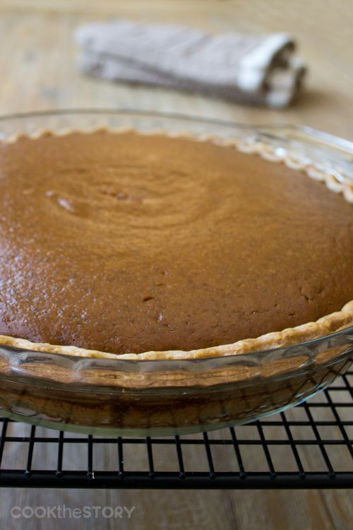 Well-Spiced Classic Pumpkin Pie Recipe with Bourbon Whipped Cream