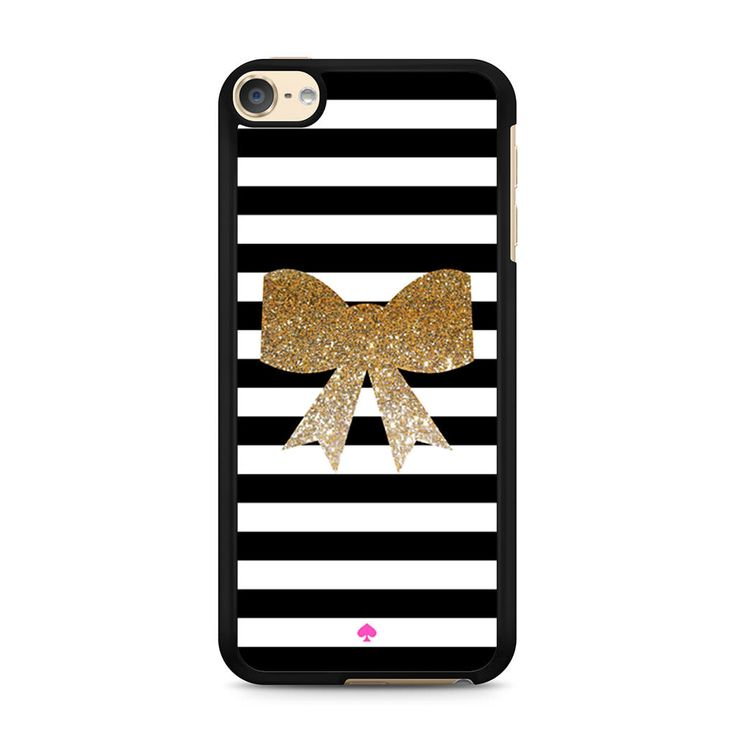 Kate Spade Inspired Bow Faux Glitter iPod Touch 6 case