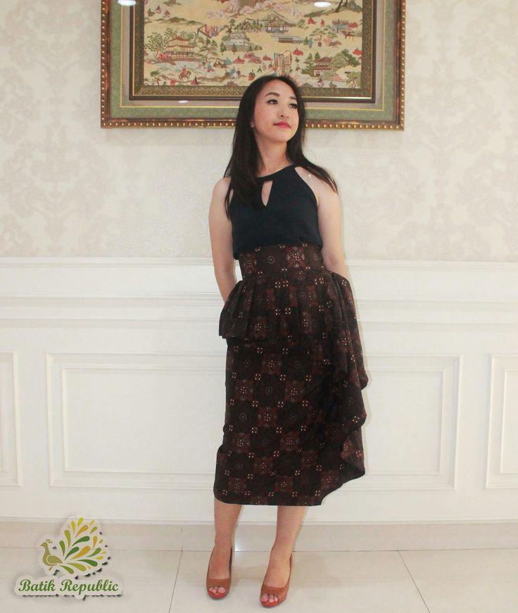 Batik Skirt , Batik Rok , Rok Lilit , Batik Republic , Order by WA : +6281210197400 or Line : batikrepublic