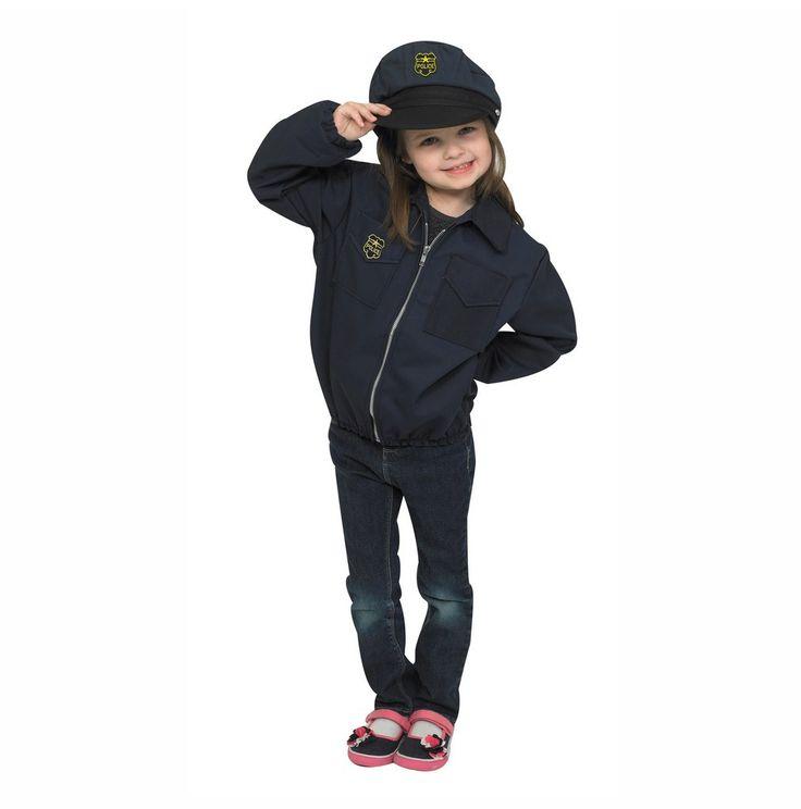 Children's Factory Police Costume CF100-313M