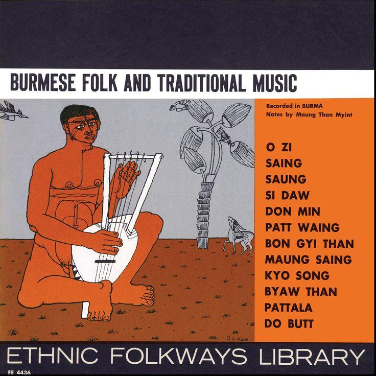 Various - Burmese Folk and Traditional Music