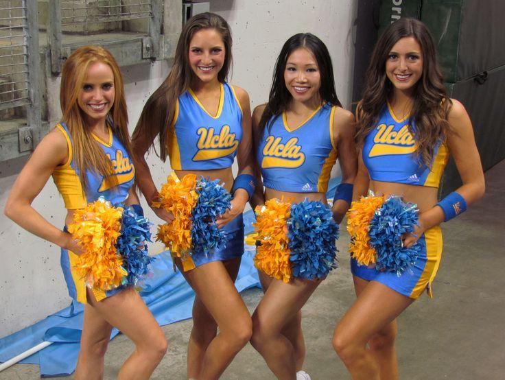 Gorgeous UCLA Cheerleaders