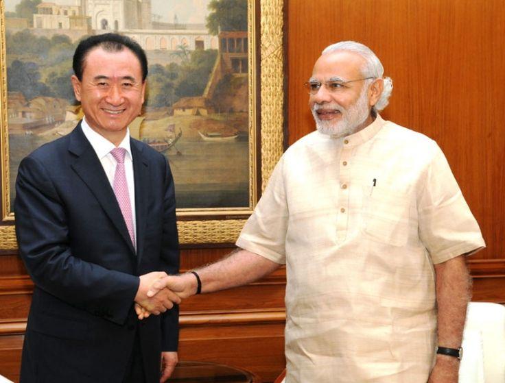 The First Mail | Wang Jianlin Calls On PM Modi