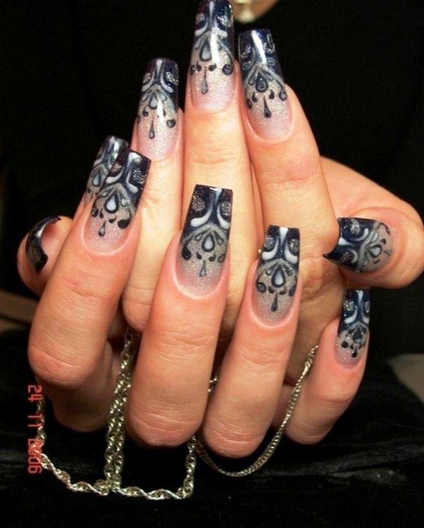 8 best Elegant nails images on Pinterest | Nail scissors, French nails and  Fingernail designs - 8 Best Elegant Nails Images On Pinterest Nail Scissors, French