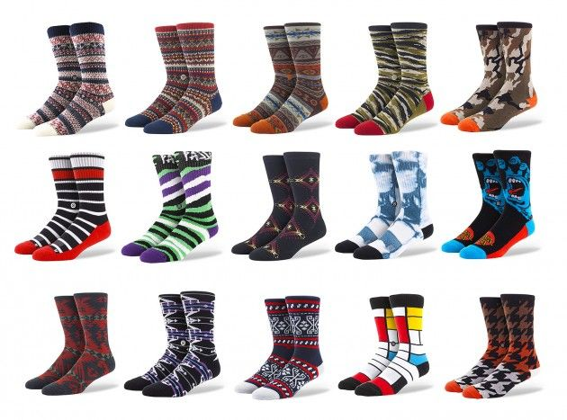 California based sockmakers Stance launches their online store with a new collection of goods for your feet for men, women and children.