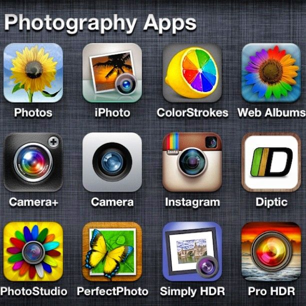 photo apps for iphone/ipad