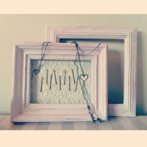 Magnetic bobby pin holder made from an upcycled picture frame