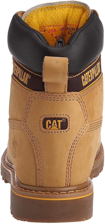 Caterpillar Holton Bottes De Securite Homme Beige Dark Honey 45 Eu Amazon Fr Chaussures Et Sacs Chaussures Caterpillar Bottes Chaussure