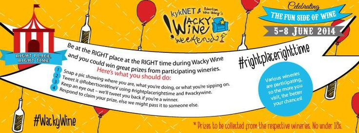 How to WIN during #WackyWine! Don't miss this great opportunity to win some amazing prizes.