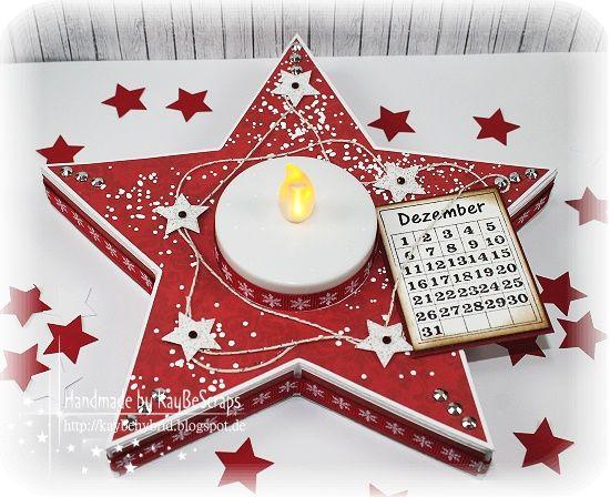 Hallo ihr Lieben ,   ich hatte euch ja versprochen, ein Tutorial für den Advents-Stern  zu machen und hier ist es nun.. ;)    Ihr könnt den ...