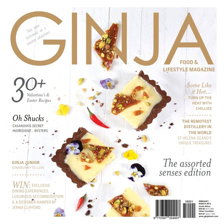 GINJA Food & Lifestyle Magazine Issue '22 - Purchase your digital or print subscription from http://www.ginjafood.com/shop/ or email