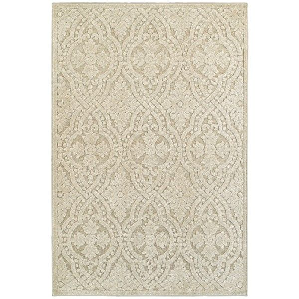 Jacquard Luxe Sand/ Beige Rug (9'10 x 12'10)