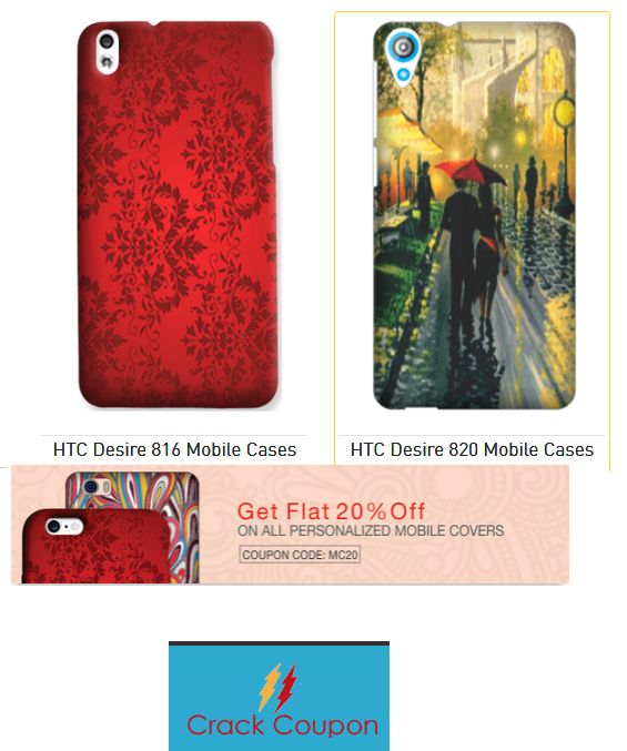 Flat 20% Off On #Custom #MobileCovers Only at #Printland