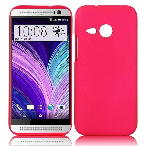 Donkerroze hardcase hoesje voor HTC One Mini 2