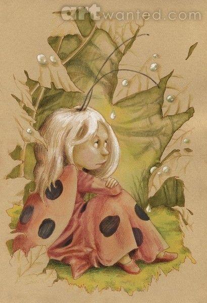 Ladybug Fairy by Joanna Pasek on ARTwanted