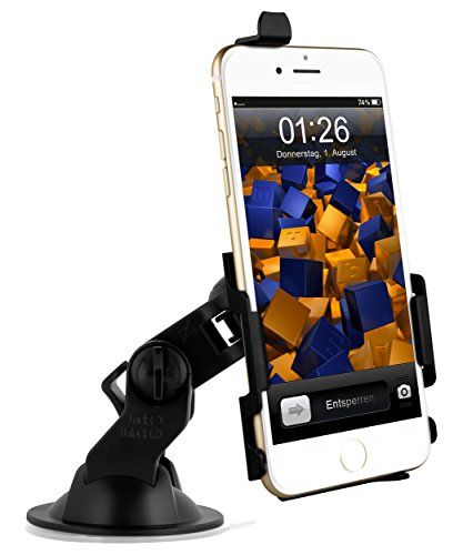 mumbi KFZ Halterung iPhone 6 Plus (5.5 Zoll) / Autohalterung VibrationsFREI / 90° QUERBetrieb möglich